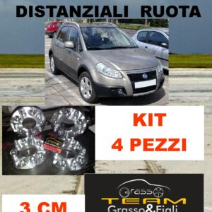 KIT 4 Distanziali Ruota For FIAT SEDICI 2005 -> 2014 5×114,3 spessore 30 mm Wheel Spacers  DF5