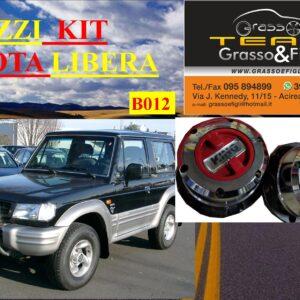 Kit Mozzi Ruota Libera For Hyundai Galloper dal 1998 al -> 2002 King off Pezzi 2 B012