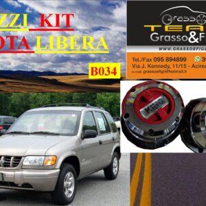 Kit Mozzi Ruota Libera For Kia Sportage Prima Serie 1993 > 2002 King off Pezzi 2 B034