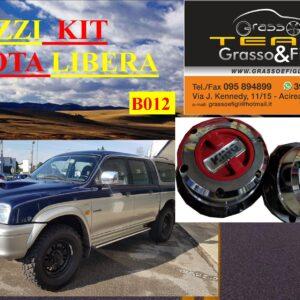 Kit Mozzi Ruota Libera For Mitsubishi L200 Terza Serie 96 >2004 King off Pezzi 2 B012