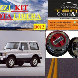 Kit Mozzi Ruota Libera For Mitsubishi Pajero L040 Prima serie King off Pezzi 2 B012