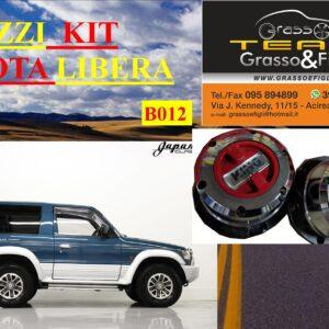 Kit Mozzi Ruota Libera For Mitsubishi Pajero V20 Seconda serie King off Pezzi 2 B012