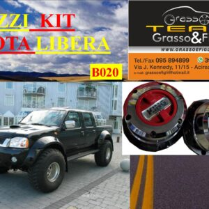 Kit Mozzi Ruota Libera For Nissan Navara D22 1997 > 2005 King off Pezzi 2 B020