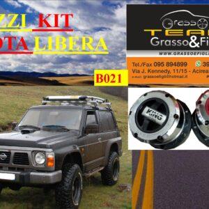Kit Mozzi Ruota Libera For Nissan Patrol GR Y60 Benzina e Diesel King off Pezzi 2 B021