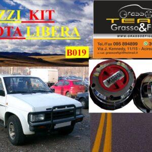 Kit Mozzi Ruota Libera For Nissan Terrano 1 I a serie King off Pezzi 2 B019
