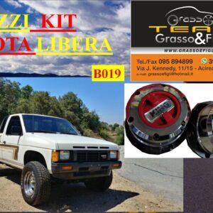 Kit Mozzi Ruota Libera For Nissan King Cab D21 1986 > 1997 King off Pezzi 2 B019