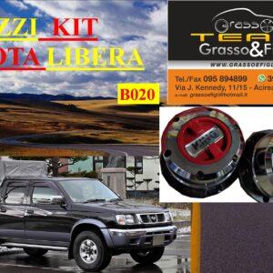 Kit Mozzi Ruota Libera For Nissan King Cab D22 1997 > 2005 King off Pezzi 2 B020
