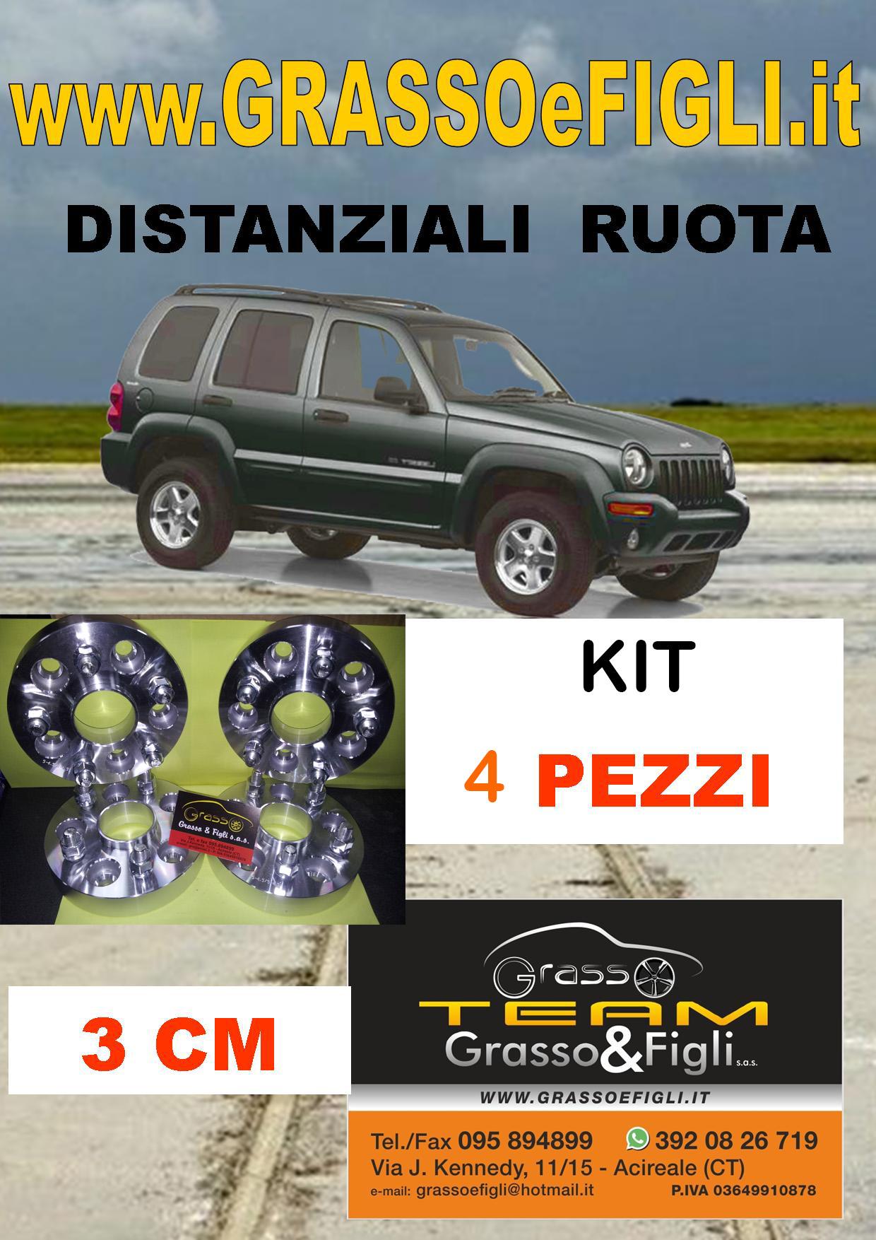 WYJBD 4X Jeep Berretti centristi Ruota in Lega Cappucci Neri 60mm