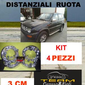 kit 4 Distanziali Ruota For Ford Maverick UDS UNS R20 2003 -> 30 mm spessore Wheel Spacers DF3