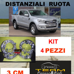 kit 4 Distanziali Ruota For FORD RANGER 2015 > 30 mm 3 cm Wheel Spacers DF3