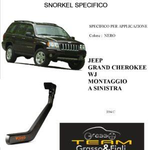 Kit Snorkel Aspirazione Aria Specifico For JEEP GRAN CHEROKEE WJ SINISTRA S94/C