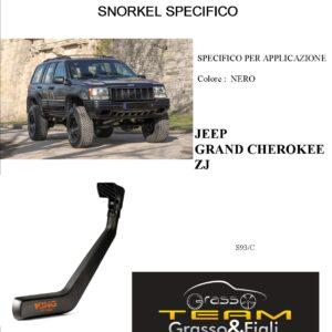Kit Snorkel Aspirazione Aria Specifico For JEEP GRAN CHEROKEE ZJ S93/C