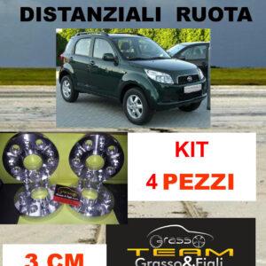 kit 4 Distanziali Ruota For Daihatsu Terios 2006 -> J2 5×114,3 3 cm spessore  Wheel Spacers DF19