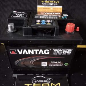 Batteria Auto 55 ah 420A – Misure 207x175x175 – Vantag Long Life Technology