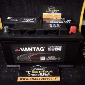 Batteria Auto 100 ah 720A – Misure 313x175x190 – Vantag Long Life Technology