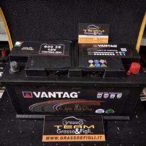 Batteria Auto 105 ah 760A – Misure 350x175x190 – Vantag Long Life Technology
