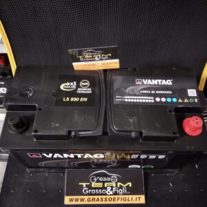Batteria Auto 105 ah 850A AGM Start & Stop – Misure 350x175x190 – Vantag Long Life Technology