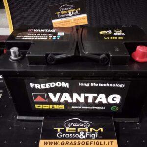Batteria Auto 100 ah 800A AGM Start & Stop – Misure 313x175x190 – Vantag Long Life Technology