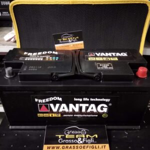 Batteria Auto 110 ah 900A – Misure 390x175x190 – Vantag Long Life Technology