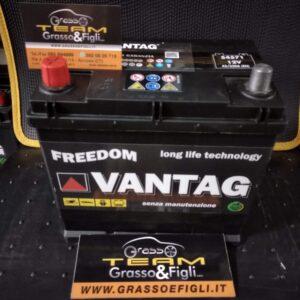 Batteria Auto 45 ah 330A Positivo a Sinistra – Misure 220x135x200 – Vantag Long Life Technology X Fiat 500 Renault 4 ecc.